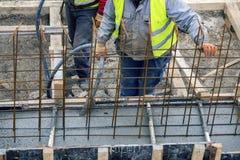 Экипаж построителей используя покер 3 воздуха Стоковые Фото