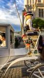 Экипаж путешестви-Cracow лошади (Краков) - Польша Стоковые Изображения RF