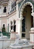 эклектичный дворец Стоковые Изображения