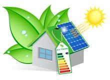 Экологическая дом Стоковые Изображения RF