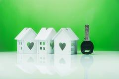 экологическая концепция дома Стоковые Изображения RF