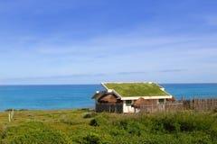 экологическая крыша Мексики дома травы Стоковая Фотография