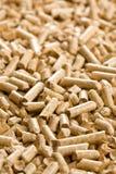 экологическая лепешка топления деревянная Стоковые Фотографии RF