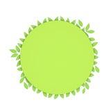 экологическая рамка иллюстрация штока