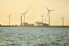 экологические ветрянки источника энергии Стоковые Фото