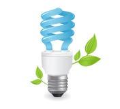 экологические lightbulbs иконы Стоковые Фото