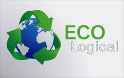 Экологическо иллюстрация вектора