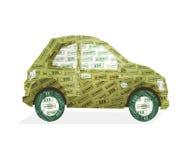 экологичность автомобиля Стоковое Изображение
