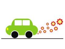 экологичность автомобиля иллюстрация штока