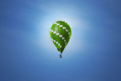 экологичность воздушного шара хорошая Стоковое Изображение