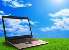 экологичность компьютера Стоковая Фотография RF