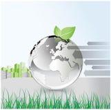 экологичность конструкции принципиальной схемы Стоковое Изображение RF