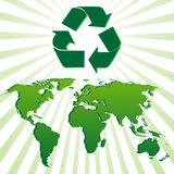 экологичность предпосылки Стоковое Изображение RF