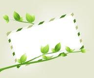 экологичность принципиальной схемы Стоковое Изображение