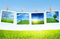 экологичность принципиальной схемы Стоковые Фото