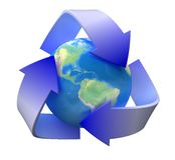 экологичность рециркулирует Стоковое Изображение