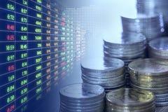 Экономика и фондовая биржа Стоковое Изображение RF