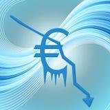 Экономический кризис Стоковое Изображение