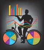 Экономическое представление результатов Стоковое Изображение RF