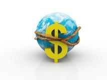 экономия гловальная Стоковое Изображение RF