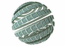 экономия гловальная Стоковая Фотография RF