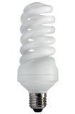экономия cfl шарика изолировала сбережениа светильника светлые Стоковое Изображение