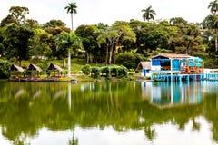 Эко-деревня Las Terrazas, Кубы стоковая фотография