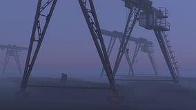 Эко-катастрофа стоковое фото rf