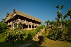 Экологическая ложа в тропическом лесе Амазонки, Yasuni Стоковые Изображения RF