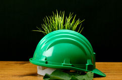 Экологическая содружественная индустрия Стоковые Изображения RF