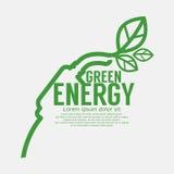 Экологическая управляя зеленая концепция Стоковое Фото