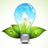 Экологическая энергия Стоковые Фотографии RF