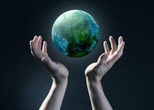 Экологичность и окружающая среда. Стоковое фото RF