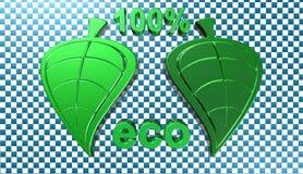 Экологичность, иллюстрация 3D Стоковые Изображения RF