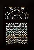 экранируйте окно silhoutte Стоковые Изображения