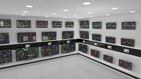 Экраны LCD видеоматериал
