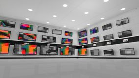 Экраны LCD со статическим сток-видео