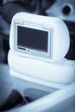 Экран автомобиля DVD-плеер Стоковые Фотографии RF