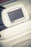 Экран автомобиля DVD-плеер Стоковые Изображения RF