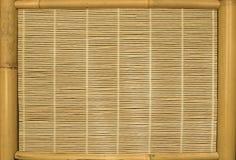 экран бамбука предпосылок Стоковая Фотография RF