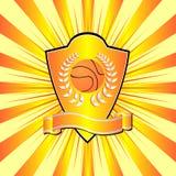 экран баскетбола Стоковая Фотография RF