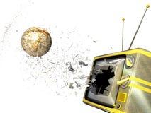 экран глобуса ломая tv бесплатная иллюстрация