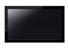 Экран ЖК-телевизора Стоковое фото RF