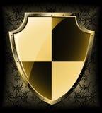экран золота Стоковое фото RF