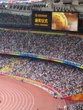 экран золотой медали Стоковое Изображение RF