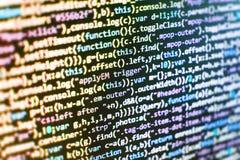 Экран места для работы разработчика программного обеспечения Стоковое Изображение RF