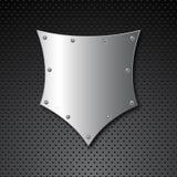 экран металла предпосылки Стоковое Фото