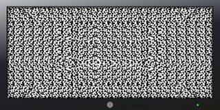 Экран с небольшим затруднением для предпосылки и знамени Стоковая Фотография RF