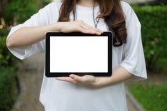 Экран таблетки Стоковые Фотографии RF