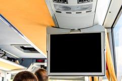 Экран ТВ информации Стоковое Изображение